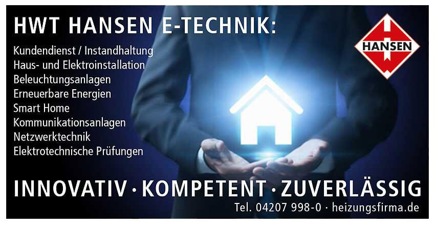 Anzeige HWT E-Zechnik