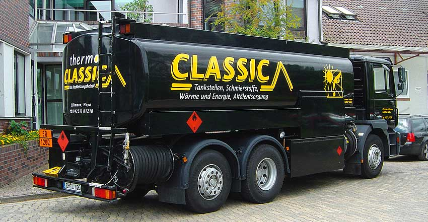 LKW-Beschriftung Classic