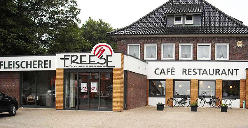 Gebäudewerbung Freese