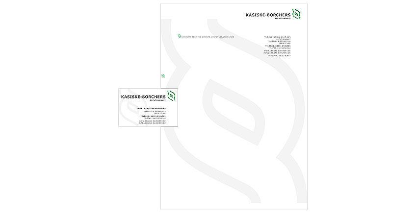 Gestaltung Geschäftspapiere