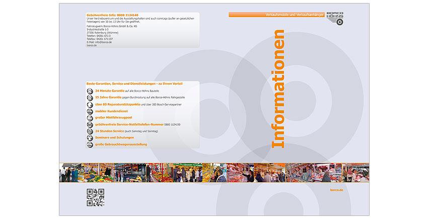 Gestaltung Informationsmappe