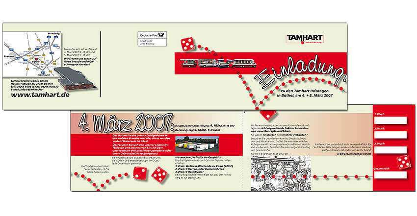 Einladung Frühjahrsschau Tamhart