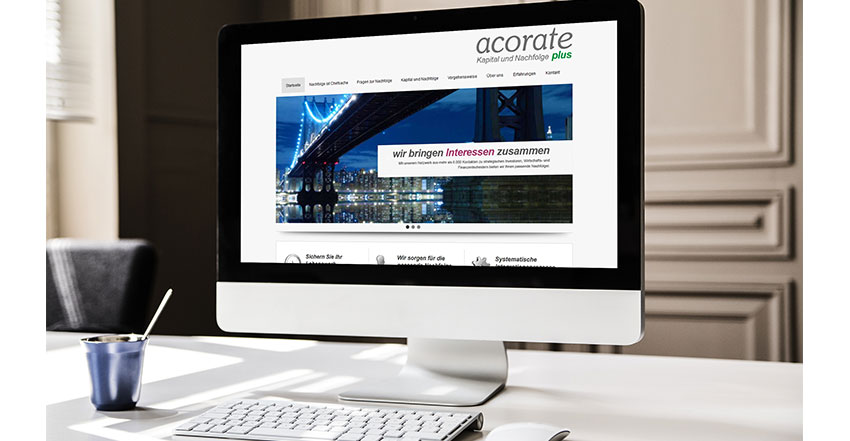 Websitegestaltung Internetweb acorate