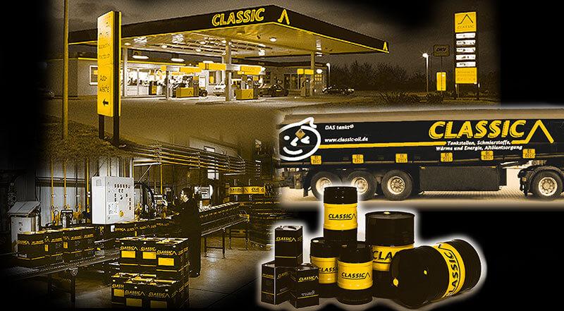 Branding CLASSIC Mineralöle und Tankstellen