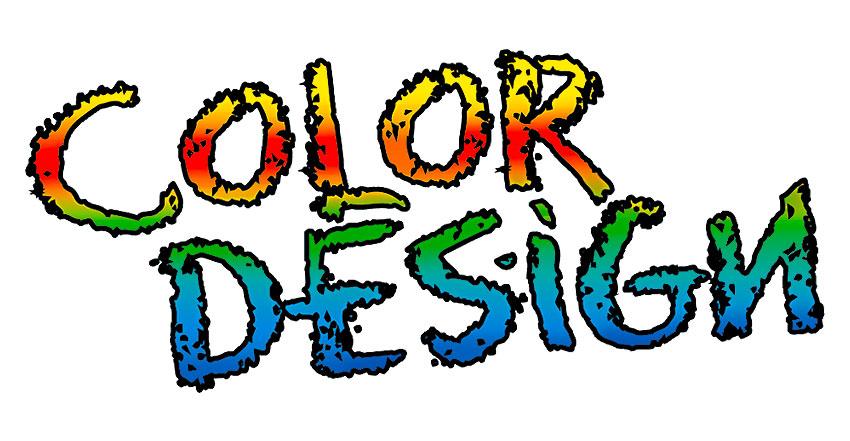 Logotype Color-Design Maler
