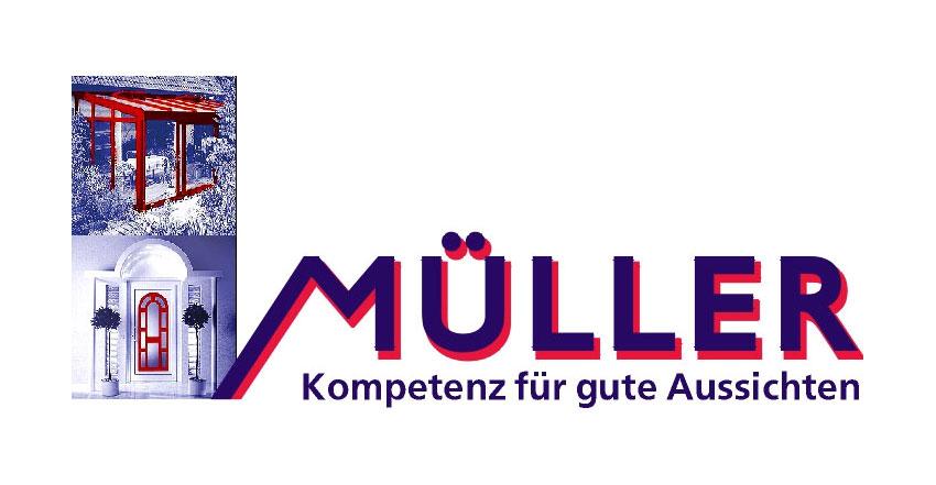 Logotype Glaserei Müller