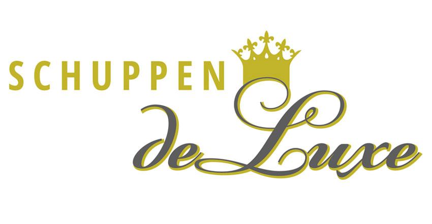 Logotype Schuppen-deLuxe, Ferienpension