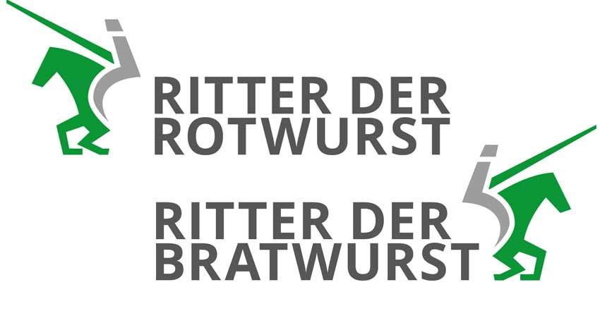 Logotype Ritter der Rotwurst