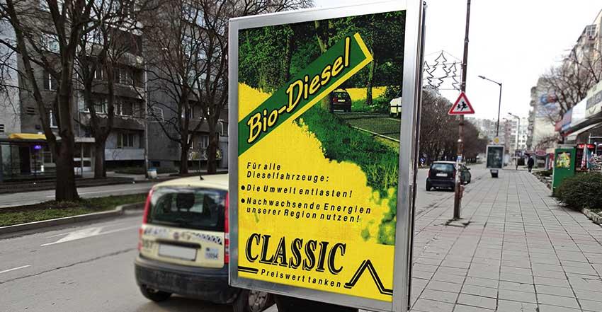 Plakat Bio-Diesel