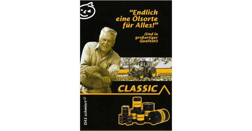 Plakat Classic-Mineralöle