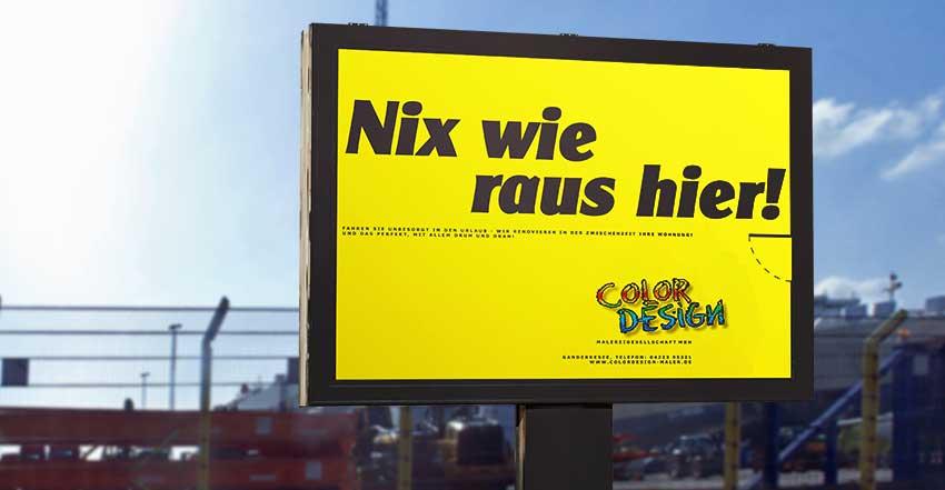 Plakat Color-Design