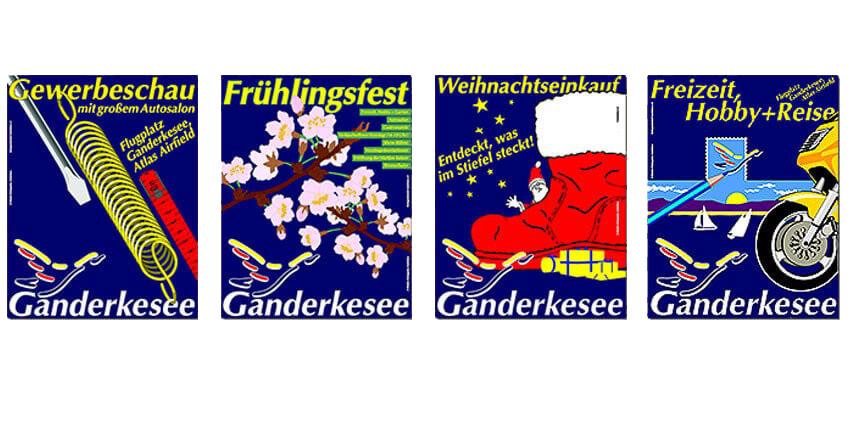Plakate Gewerbeverein Ganderkesee