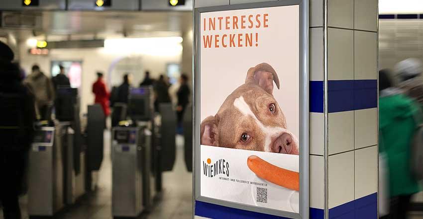 Plakat Wiemkes Werbeqentur 01