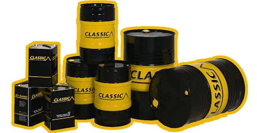 Kanister- und Fassgestaltungen Mineralöle