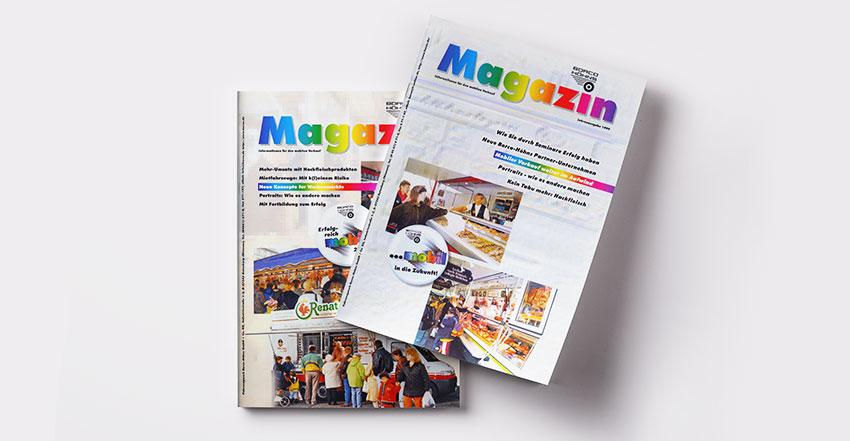 Gestaltungen für Magazine