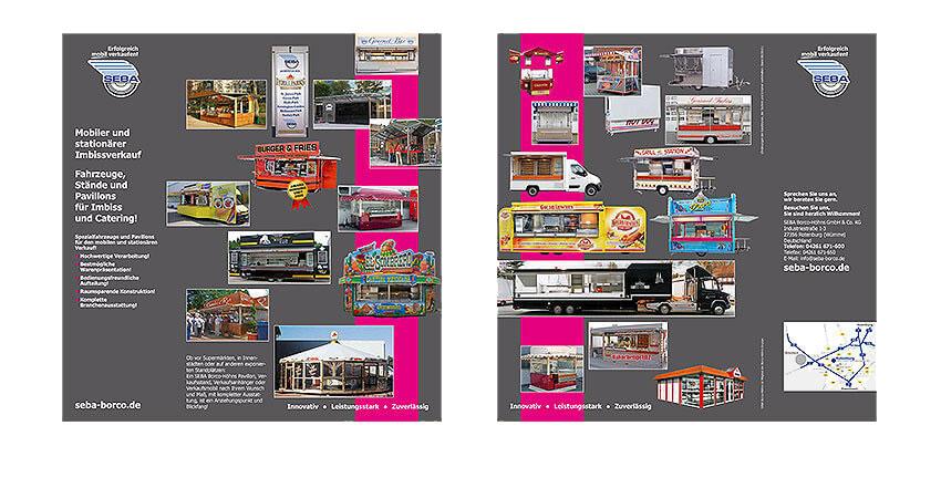 Gestaltung für Image-/Produktprospekt
