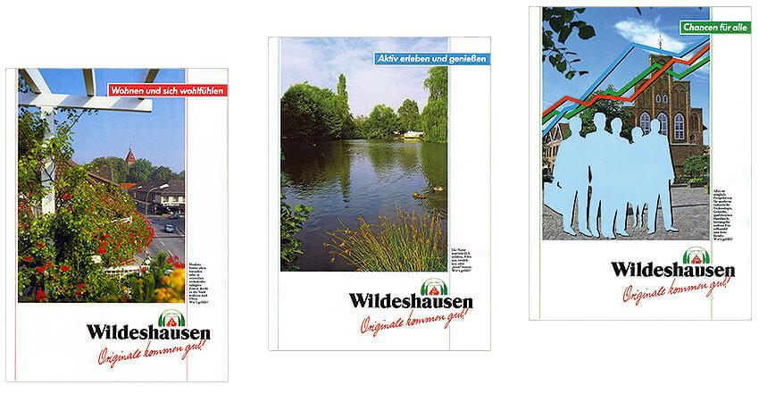 Prospektgestaltungen für Stadt Wildeshausen